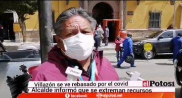 """""""La pandemia está aumentando, porque lógicamente, nos está ganando el hambre"""", dice alcalde de Villazón"""