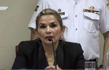 Jeanine Áñez: Si Evo Morales vuelve, tendrá que enfrentar a la justicia