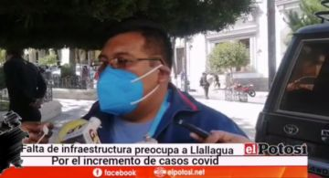 Llallagua, con más de 800 casos atraviesa dificultades para atender a pacientes