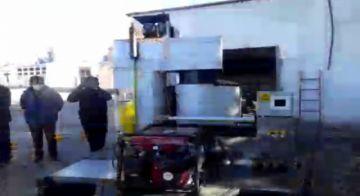 Concejales cuestionan calidad del horno crematorio móvil, dicen que se usó material reciclado