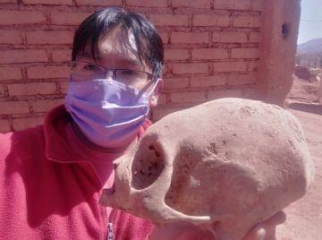 La SIHP explica por qué existen calaveras con cráneos deformados
