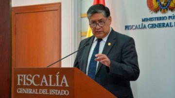 Fiscal General pide protección ante la CIDH  para él y su familia