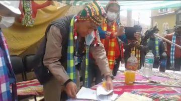 Inauguran Programa Nacional de empleo en el Norte de Potosí