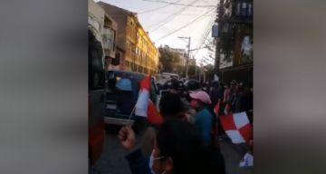 Reportan enfrentamientos verbales en inicio de campaña del MAS en Potosí