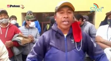 Mineros de base tomaron la cooperativa 9 de Abril