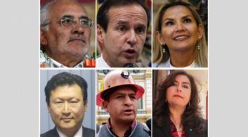 Sólo Arce y Camacho no han confirmado todavía su asistencia al debate presidencial