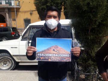 Concejal pide preservar el cerro mediante iniciativa #SalvemosAlCerro