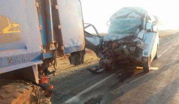 La Paz: Un accidente de tránsito a la altura de Guaqui causa siete muertos