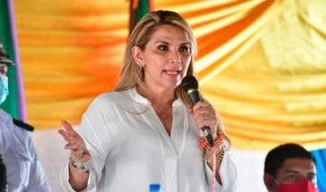 Jeanine Añez pide al TCP que haga eliminar el proyecto de Ley de Arraigo