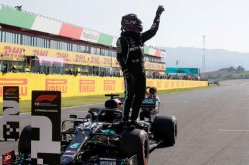 Hamilton logra la 95ª pole de su carrera en el inédito circuito de Mugello
