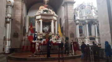 Así se prepara la procesión del Señor de la Vera Cruz