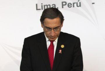 Vizcarra recurre a corte constitucional para paralizar proceso de destitución en Perú