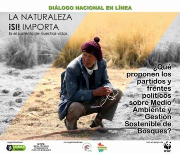 Organizaciones de la sociedad civil invitan a diálogos políticos sobre medio ambiente