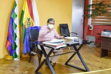 Se impulsa la conclusión de obras del proyecto del aeropuerto de Potosí