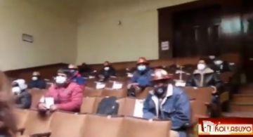 Dirigentes de cooperativas impiden que se hable de las tornaguías en reunión de Comcipo