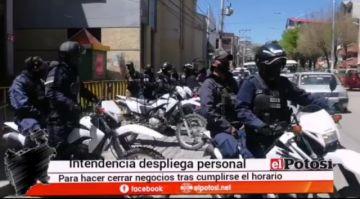 Intendencia municipal se moviliza para el control de la cuarentena