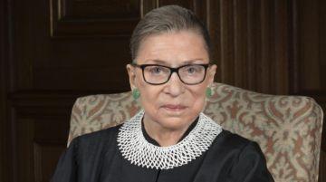 Ruth Bader Ginsburg falleció a los 87 años y fue pionera en la lucha por la igualdad