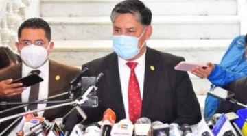 Fiscalía niega que Lanchipa haya tenido contacto telefónico con Evo Morales