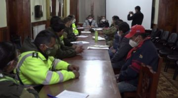 Buscan reforzar los controles de viajes en Potosí