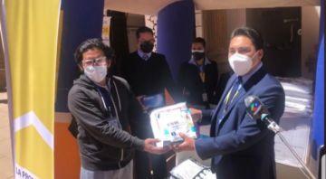 La Promotora entrega insumos de bioseguridad al Cento Covid