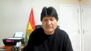 """Evo Morales: """"Estamos hablando con las FFAA, empresarios e Iglesia para evitar otro golpe"""""""