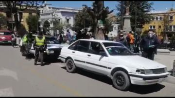 Realizan el control de SOAT en el centro de la ciudad