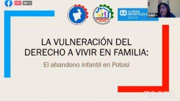 """En desarrollo el webinar """"El derecho a vivir en familia"""""""