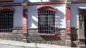 Agrupación Creemos pegó propaganda en el centro de Potosí