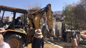 Exhumaron el supuesto cadáver de Jorge Clavijo para nuevo peritaje