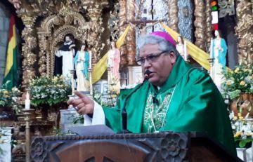 Arzobispo de La Paz exhorta a candidatos y políticos defender la unidad del país