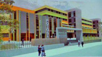 Gestionan recursos para el pago de planillas para el hospital de tercer nivel