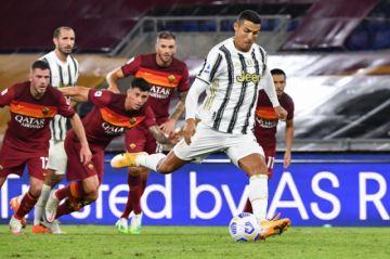 Ronaldo permite a la Juventus rescatar un punto ante la Roma