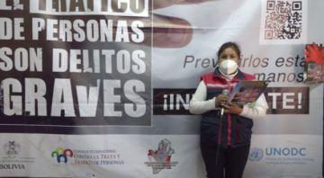 Buscan evitar la expansión de los delitos de trata y tráfico en Potosí