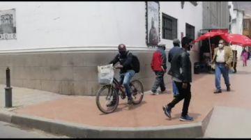 El Potosí impreso llega a los hogares hasta en bicicletas