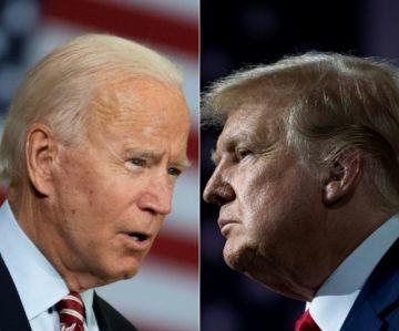 Trump y Biden se enfrentan en un debate de alta tensión en EE.UU.