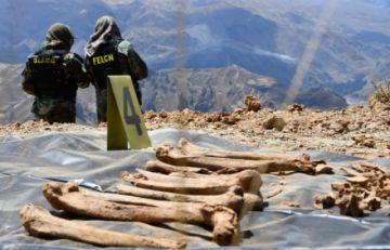 La Paz: Intensificarán rastrillaje donde hallaron restos en fosas comunes