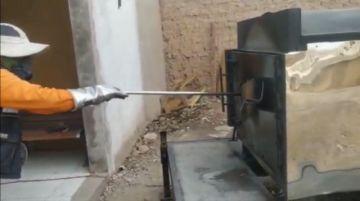 """Ejecutivo de la Alcaldía dice que el horno crematorio """"está en el marco de la normalidad"""""""