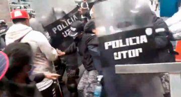 La Paz: Instruyen acciones disciplinarias contra policías que reprimieron a personas ciegas