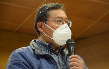 ¿Qué condiciones pone Luis Arce para respetar resultado electoral?