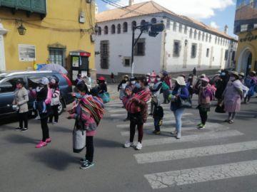 Esposas de Andacaba se movilizan anuncian fortalecer bloqueos