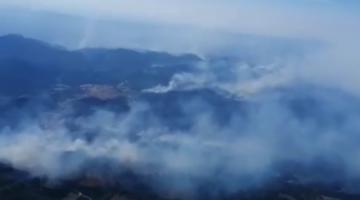 """""""Se está quemando todo"""". La impotencia de pobladores en regiones afectadas por los incendios en Bolivia"""