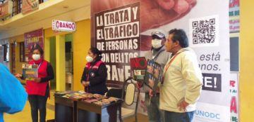 Sedeges realiza actividades de fortalecimiento a la lucha contra la trata y tráfico