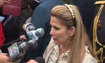 """Jeanine Áñez advierte: """"si los violentos nos provocan, va a tener sus consecuencias"""""""
