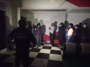 Intendencia interviene una discoteca y arresta a casi 50 personas