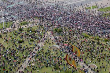 Vuelven las protestas contra Lukashenko en Bielorrusia