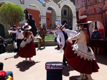 """Celebran el """"Día de la Cueca"""" virtualmente en Potosí"""
