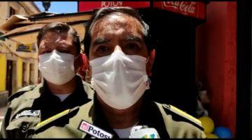 Comandante general de la Policía descarta que haya grupos subversivos en Potosí