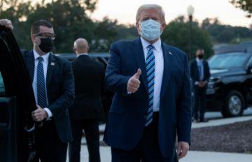 """""""¡Me siento perfectamente bien!"""": Trump regresó al Salón Oval tras superar el covid-19"""