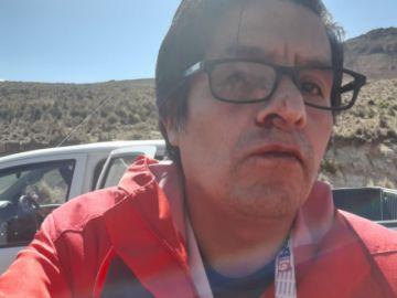 En Vivo: Grupo de cooperativistas golpea a periodista de El Potosí