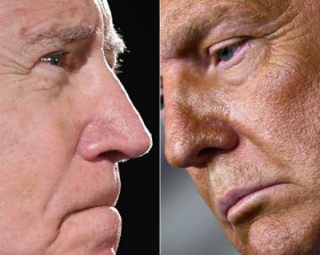 Donald Trump dice que no participará en un debate virtual con Joe Biden